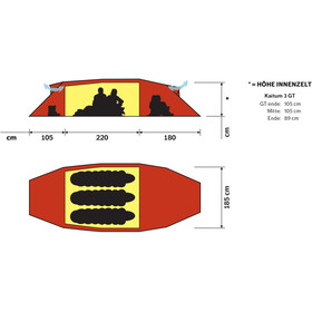 Hilleberg Kaitum 3 GT Tent, red